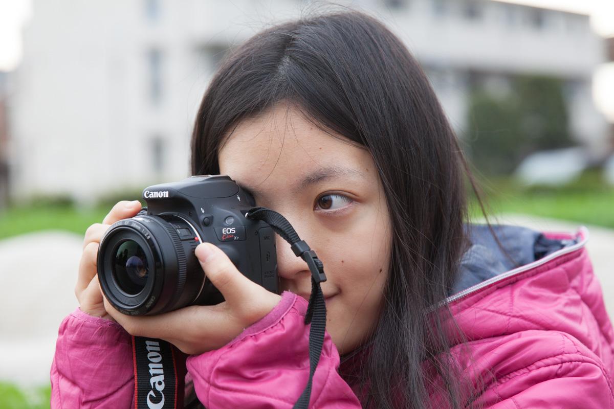 EOS Kiss X7の標準レンズ比較写真。