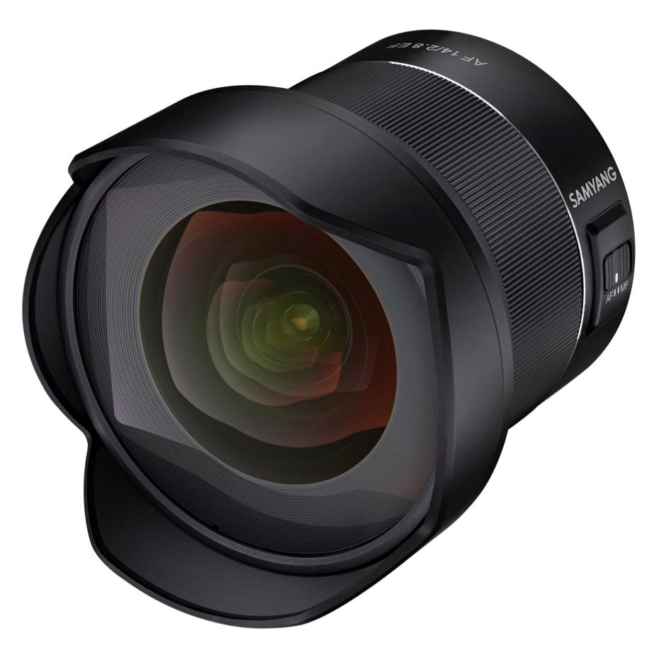 【更新】SAMYANGもEFマウント14mm F2.8 AFレンズを発表するそうです。