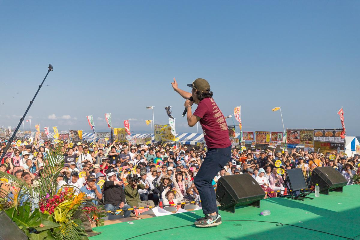 20180429GW初っぱな、いとしのエリーズ@湘南祭は2ステージでした。