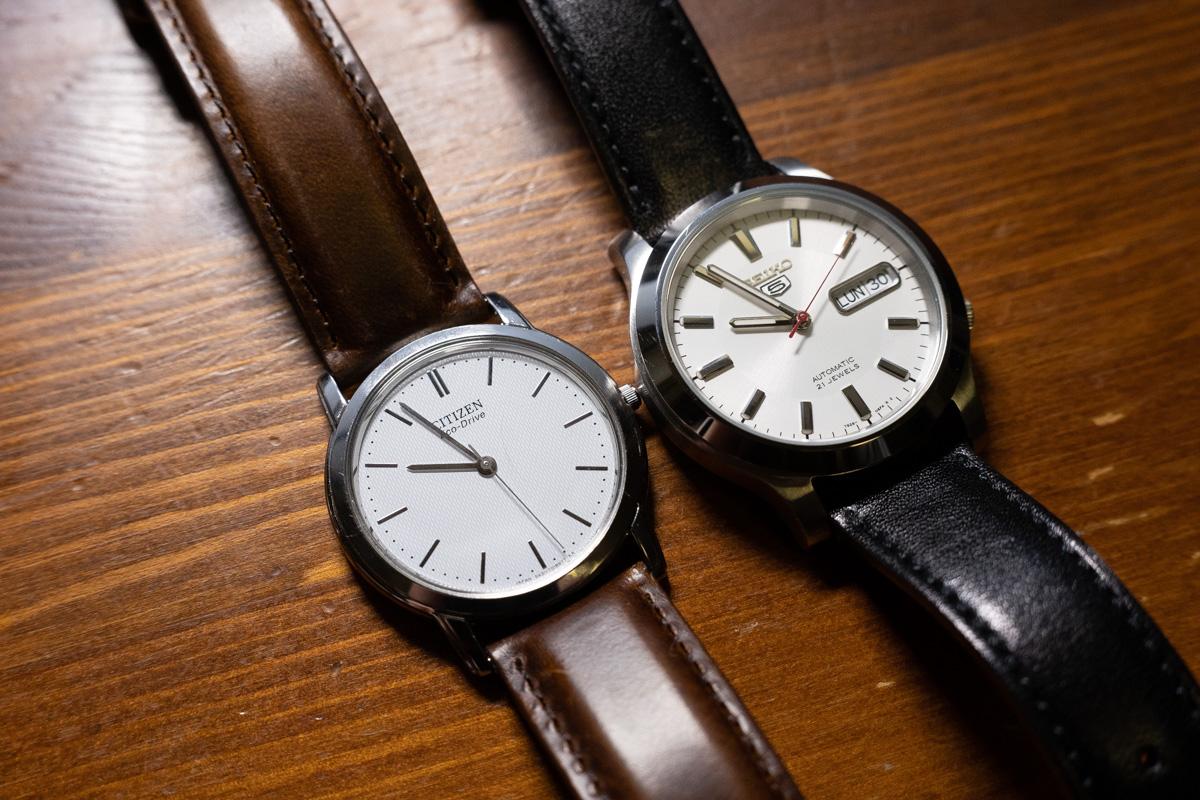 腕時計・ドレスウォッチの選び方。