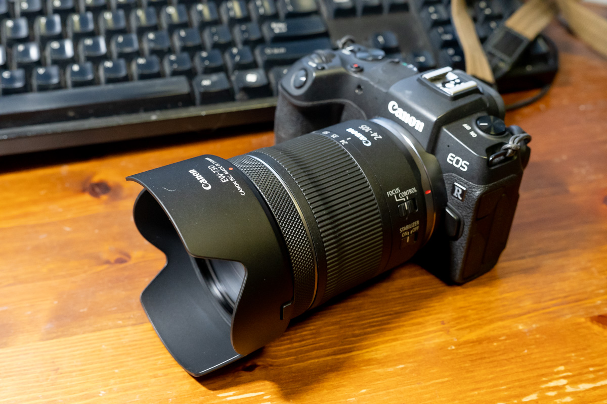 【追記あり】最速、RF24-105mm F4-7.1 IS STMレビュー。