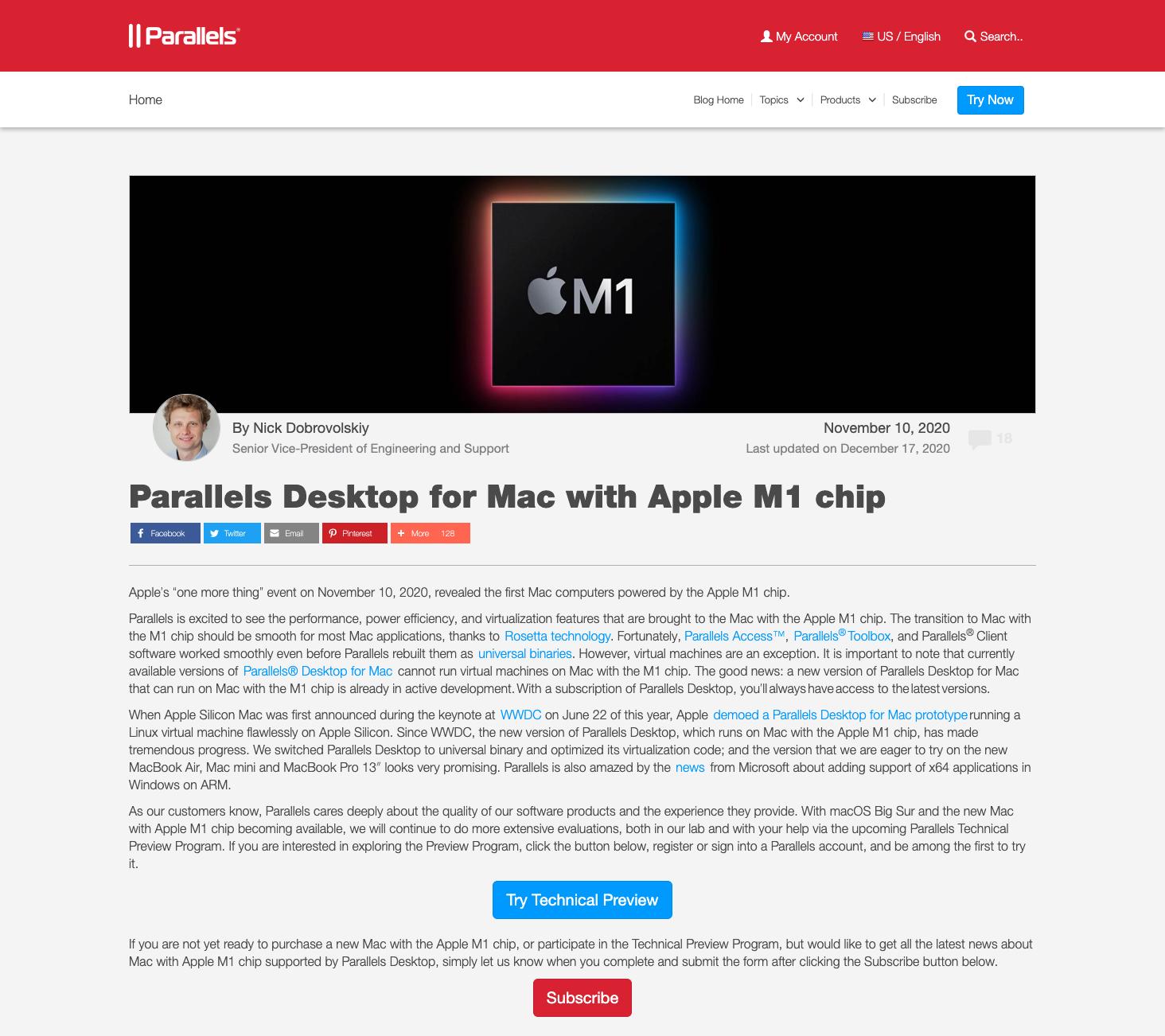 【20210415正式版リリース】【更新】M1 MacBook AirでWindowsを動作しました。