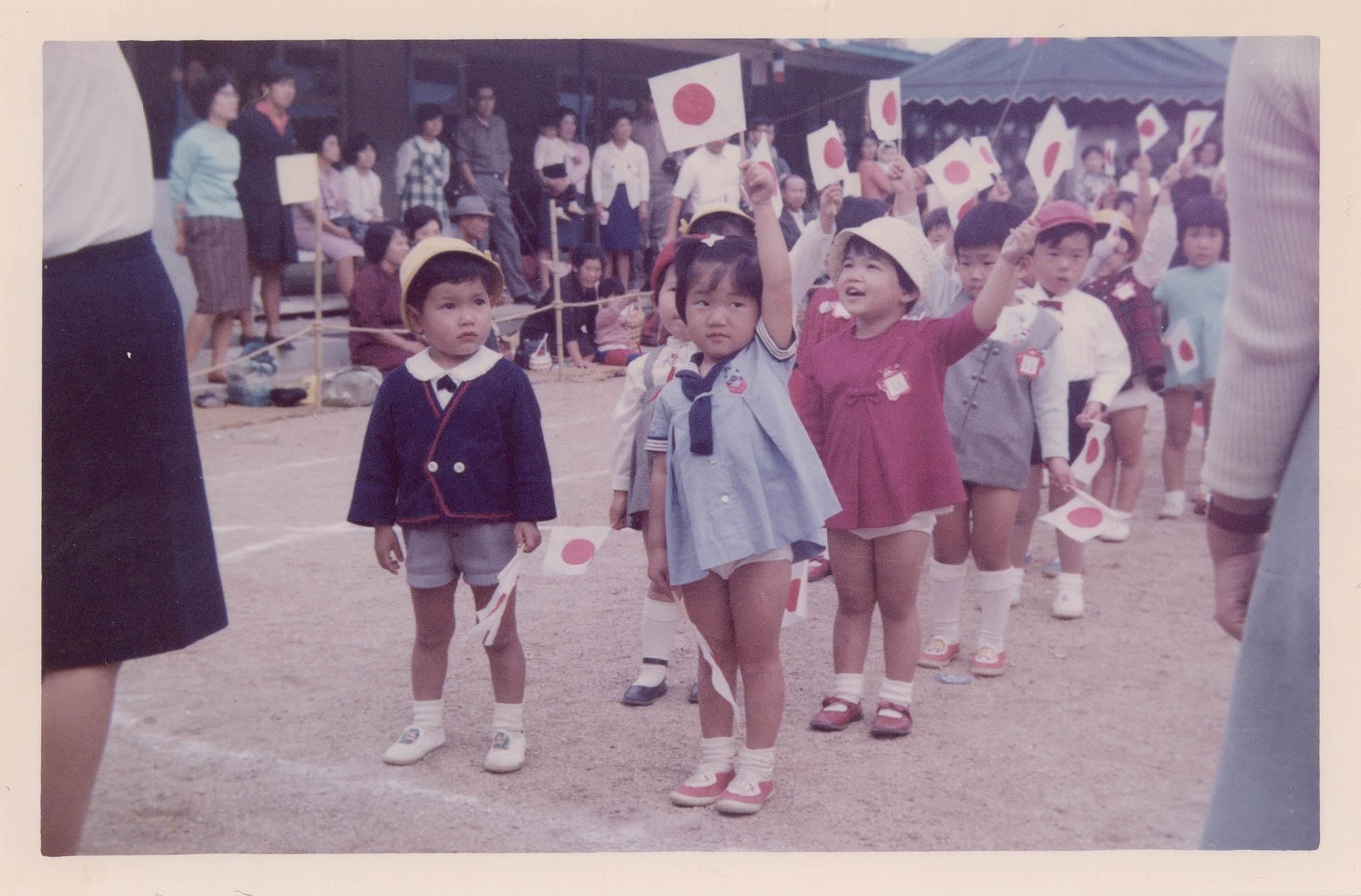 【古いアルバム】1966-1969日本女子大付属豊明幼稚園。